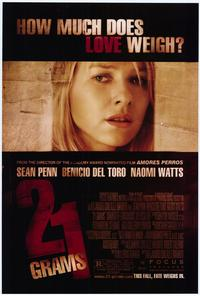 21 Grams - 27 x 40 Movie Poster - Style B