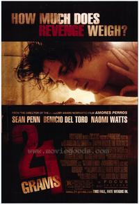 21 Grams - 27 x 40 Movie Poster - Style C