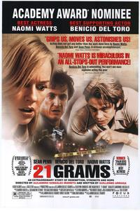 21 Grams - 27 x 40 Movie Poster - Style E