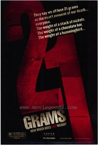 21 Grams - 43 x 62 Movie Poster - Bus Shelter Style A