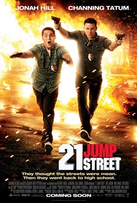 21 Jump Street - 43 x 62 Movie Poster - Bus Shelter Style B