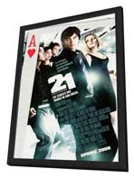 21 - 27 x 40 Movie Poster - Style A - in Deluxe Wood Frame