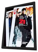 21 - 11 x 17 Movie Poster - Style B - in Deluxe Wood Frame