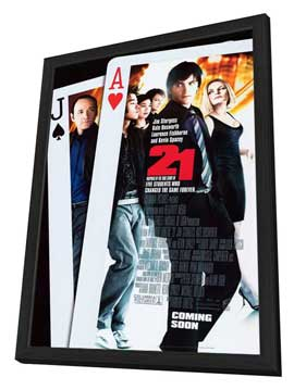 21 - 27 x 40 Movie Poster - Style B - in Deluxe Wood Frame