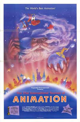 21st International Tournee of Animation - 11 x 17 Movie Poster - Style A