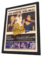 23 Paces to Baker Street - 11 x 17 Movie Poster - Style A - in Deluxe Wood Frame