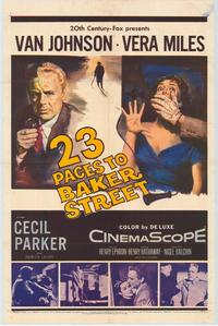 23 Paces to Baker Street - 27 x 40 Movie Poster - Style A
