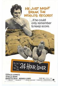24 Hour Lover - 27 x 40 Movie Poster - Style A