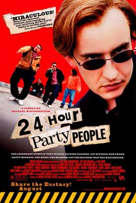 24 Hour Party People - 11 x 17 Movie Poster - Style A