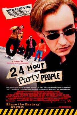 24 Hour Party People - 27 x 40 Movie Poster - Style A