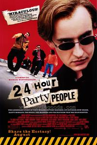 24 Hour Party People - 43 x 62 Movie Poster - Bus Shelter Style A