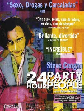 24 Hour Party People - 27 x 40 Movie Poster - Spanish Style A