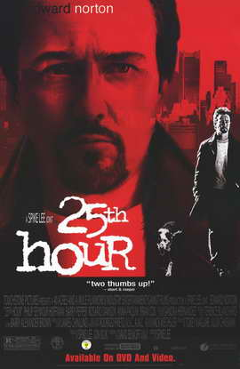 25th Hour - 11 x 17 Movie Poster - Style B