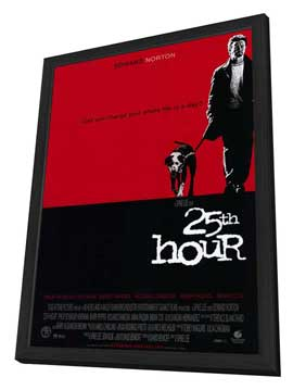 25th Hour - 11 x 17 Movie Poster - Style A - in Deluxe Wood Frame
