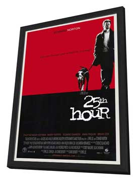 25th Hour - 27 x 40 Movie Poster - Style A - in Deluxe Wood Frame