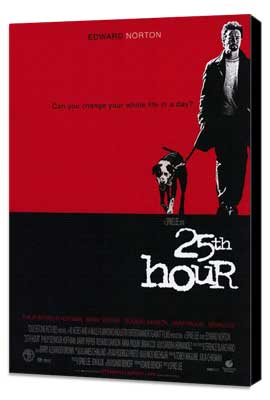 25th Hour - 11 x 17 Movie Poster - Style A - Museum Wrapped Canvas