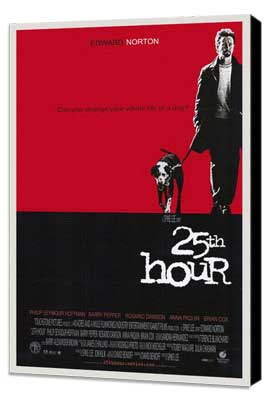 25th Hour - 27 x 40 Movie Poster - Style A - Museum Wrapped Canvas
