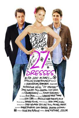 27 Dresses - 27 x 40 Movie Poster - Style B