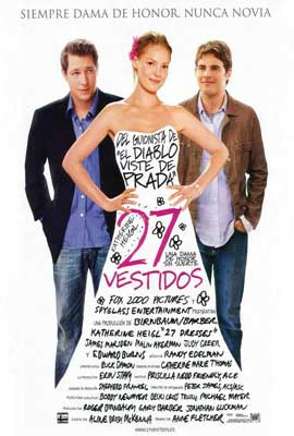 27 Dresses - 27 x 40 Movie Poster - Spanish Style A