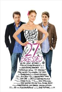 27 Dresses - 27 x 40 Movie Poster - UK Style A