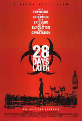 28 Days Later - 27 x 40 Movie Poster - Style A