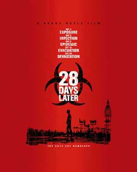 28 Days Later - 27 x 40 Movie Poster - Style D