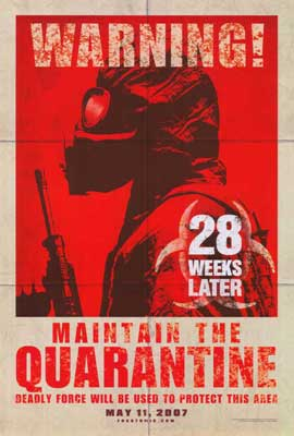 28 Weeks Later - 27 x 40 Movie Poster - Style B
