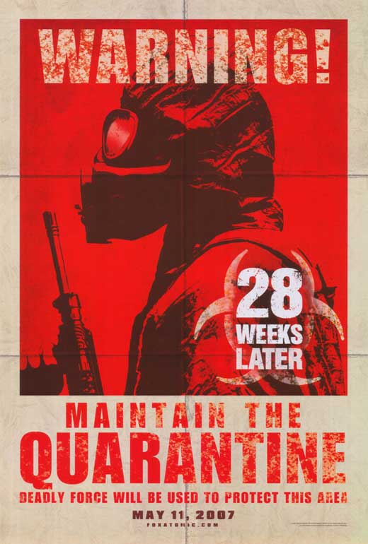 28 weeks later movie posters from movie poster shop