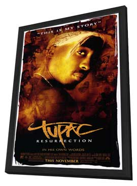 2Pac - 27 x 40 Movie Poster - Style A - in Deluxe Wood Frame