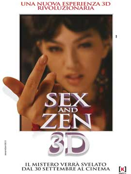 3-D Sex and Zen: Extreme Ecstasy - 27 x 40 Movie Poster - Italian Style A