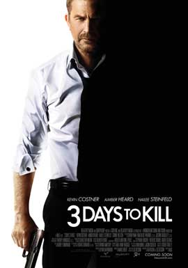 3 Days to Kill - 27 x 40 Movie Poster - Style A