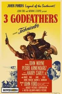 3 Godfathers - 43 x 62 Movie Poster - Bus Shelter Style A
