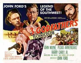 3 Godfathers - 11 x 14 Movie Poster - Style B