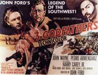 3 Godfathers - 11 x 17 Movie Poster - Style B