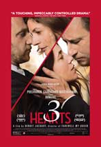 """3 Hearts"" Movie Poster"