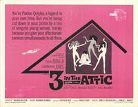 3 in the Attic - 11 x 14 Movie Poster - Style A
