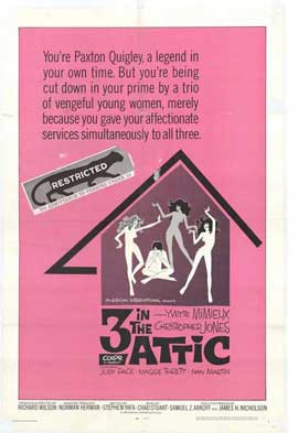 3 in the Attic - 11 x 17 Movie Poster - Style A