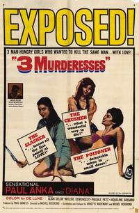 3 Murderesses - 11 x 17 Movie Poster - Style A