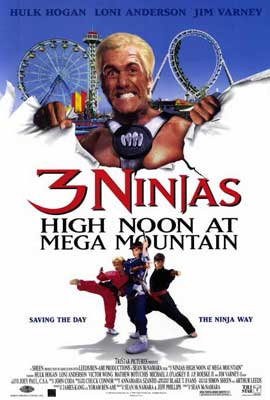 3 Ninjas: High Noon at Mega Mountain - 11 x 17 Movie Poster - Style A