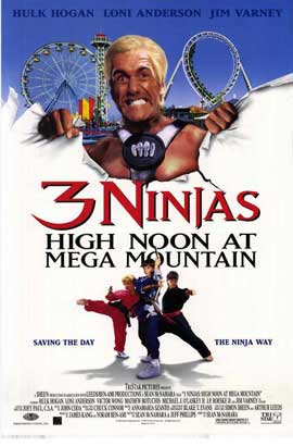 3 Ninjas: High Noon at Mega Mountain - 27 x 40 Movie Poster - Style A