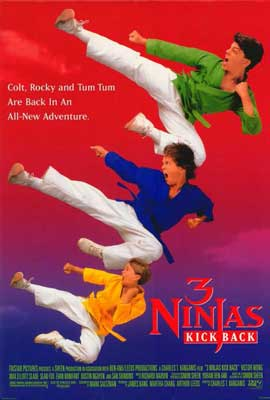 3 Ninjas Kick Back - 27 x 40 Movie Poster - Style A