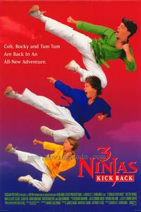 3 Ninjas Kick Back - 43 x 62 Movie Poster - Bus Shelter Style A