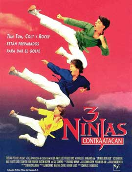 3 Ninjas Kick Back - 11 x 17 Movie Poster - Spanish Style A