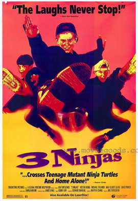 3 Ninjas - 11 x 17 Movie Poster - Style A