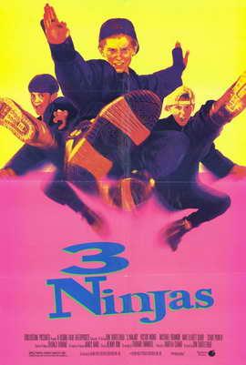 3 Ninjas - 11 x 17 Movie Poster - Style B