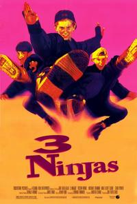3 Ninjas - 27 x 40 Movie Poster - Style B