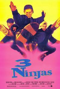 3 Ninjas - 27 x 40 Movie Poster - Style D