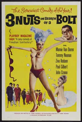 3 Nuts in Search of a Bolt - 27 x 40 Movie Poster - Style A