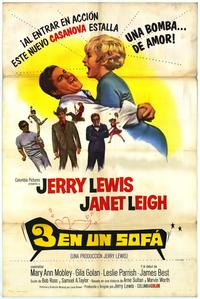 3 On a Couch - 11 x 17 Movie Poster - Spanish Style A