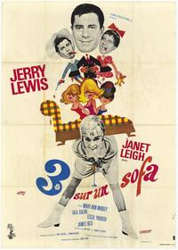 3 On a Couch - 11 x 17 Movie Poster - French Style A